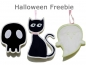 Preview: Halloween-Set Applikationen