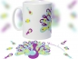 Mobile Preview: Tasse Pfau Melamin BPA-frei