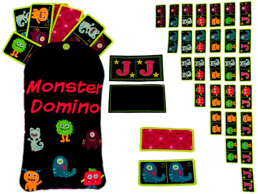 ITH Monster Domino 13x18 Megaset
