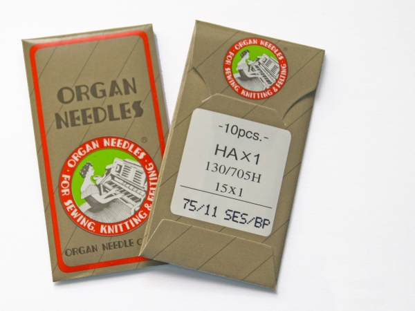 Sticknadeln Organ 75 SES 10er Pack
